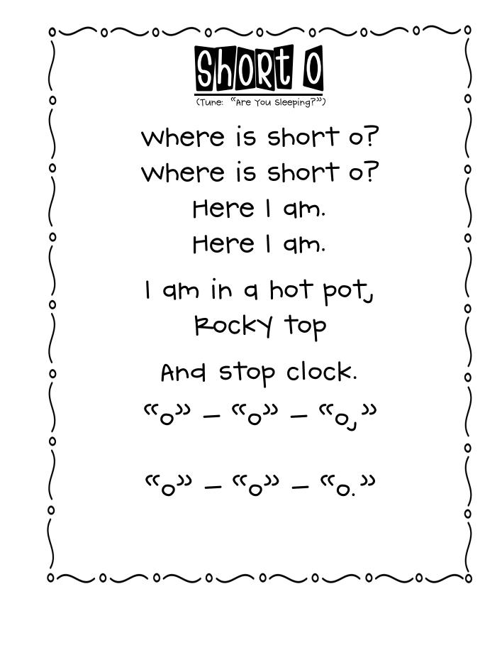 Short Vowels Chart | TF-2517
