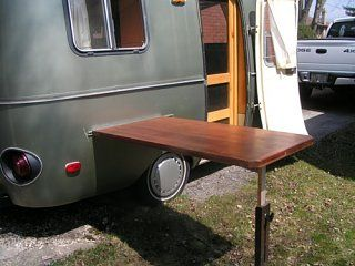 outdoor table scamp ideas pinterest outdoor tables trailer rh pinterest com au outdoor tv furniture rv outside furniture