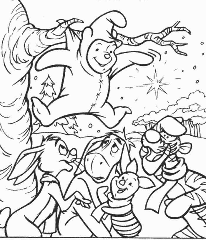 Dibujos para Colorear Winnie the Pooh 12   Dibujos para colorear ...