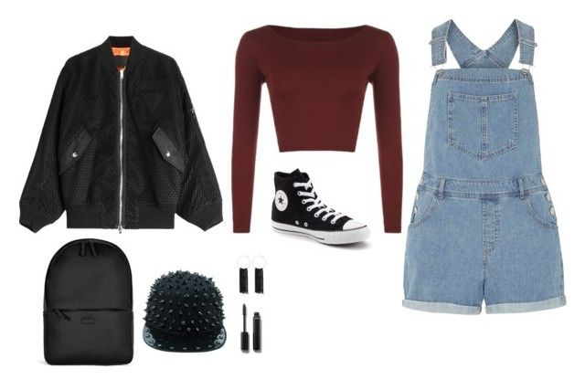 """""""Untitled #737"""" by alex-gucka ❤ liked on Polyvore featuring Dorothy Perkins, WearAll, Converse, Alexander Wang, Rains, Bebe and Chanel"""