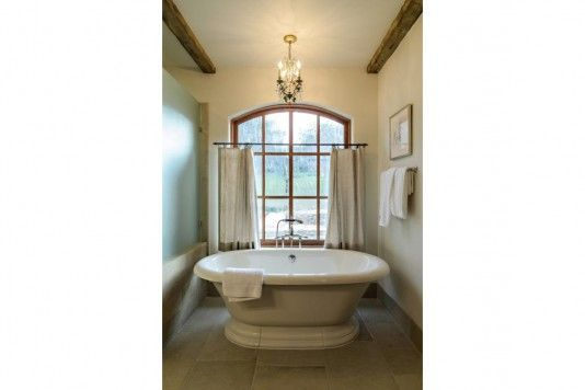 The Master Bathroom is another example of timeless finishes.