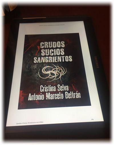 Humor y literatura: Crudos, sucios, sangrientos – Cristina Selva y Antonio Marcelo Beltrán