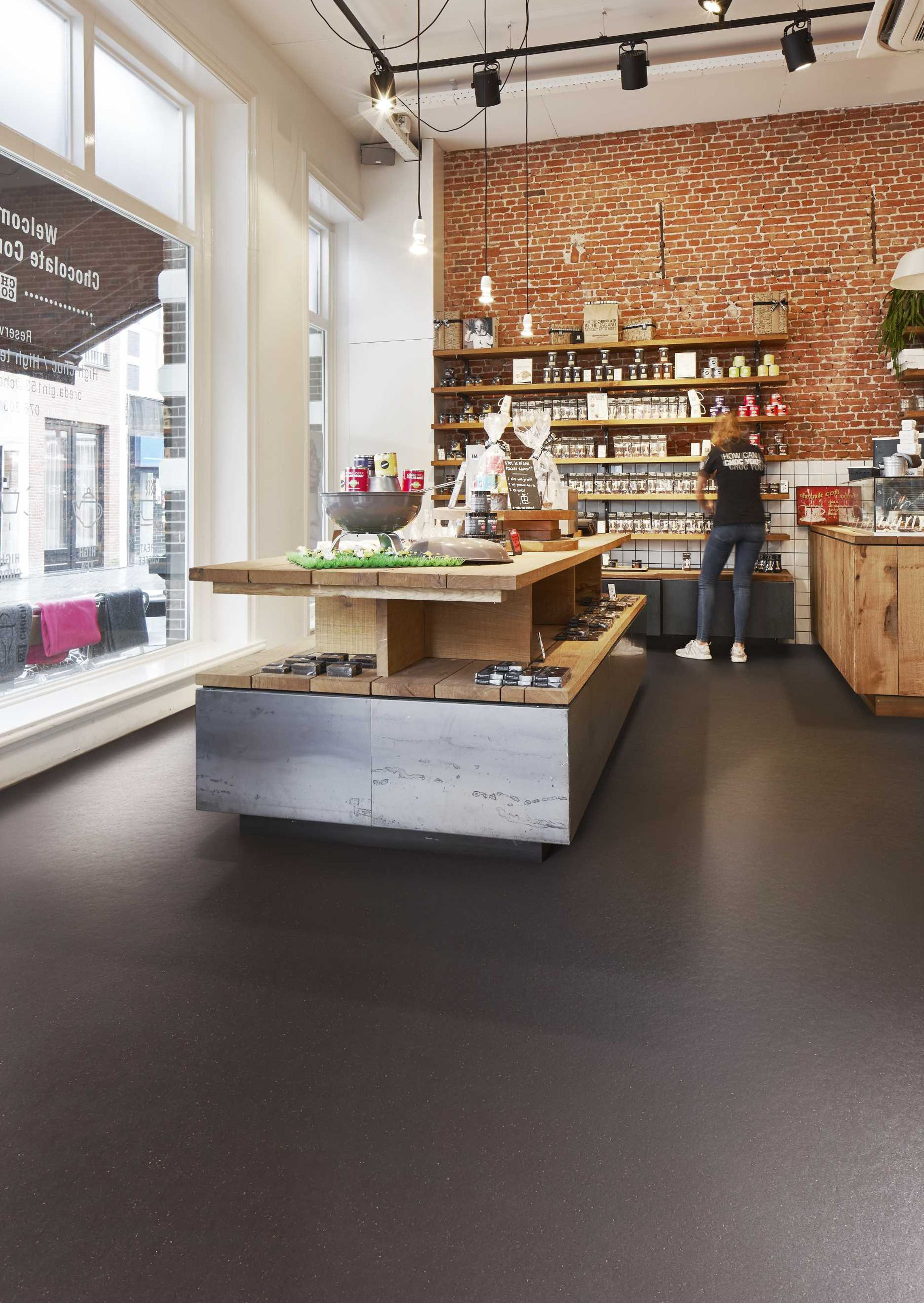 Resilient Floor Coverings Forbo Flooring Marmoleum Cocoa Http Www