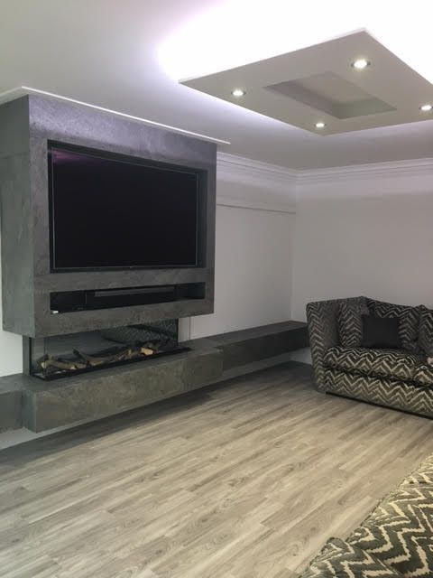 Pin By Flexstone On Flexstone Living Room Tv Wall Living Room Decor Natural Stone Cladding