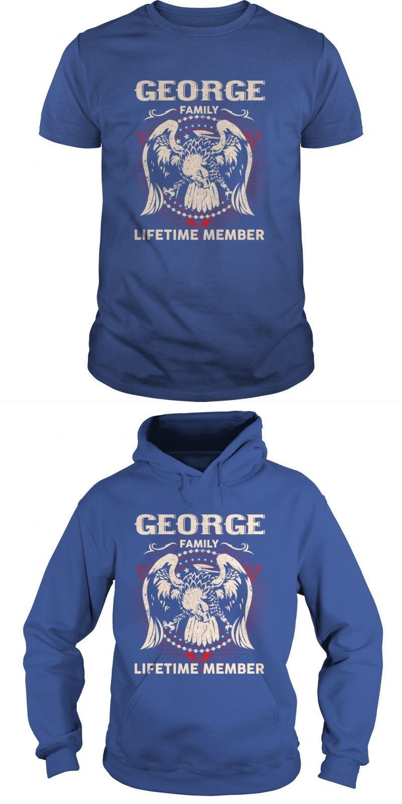George t shirt dress george family lifetime member eddie george