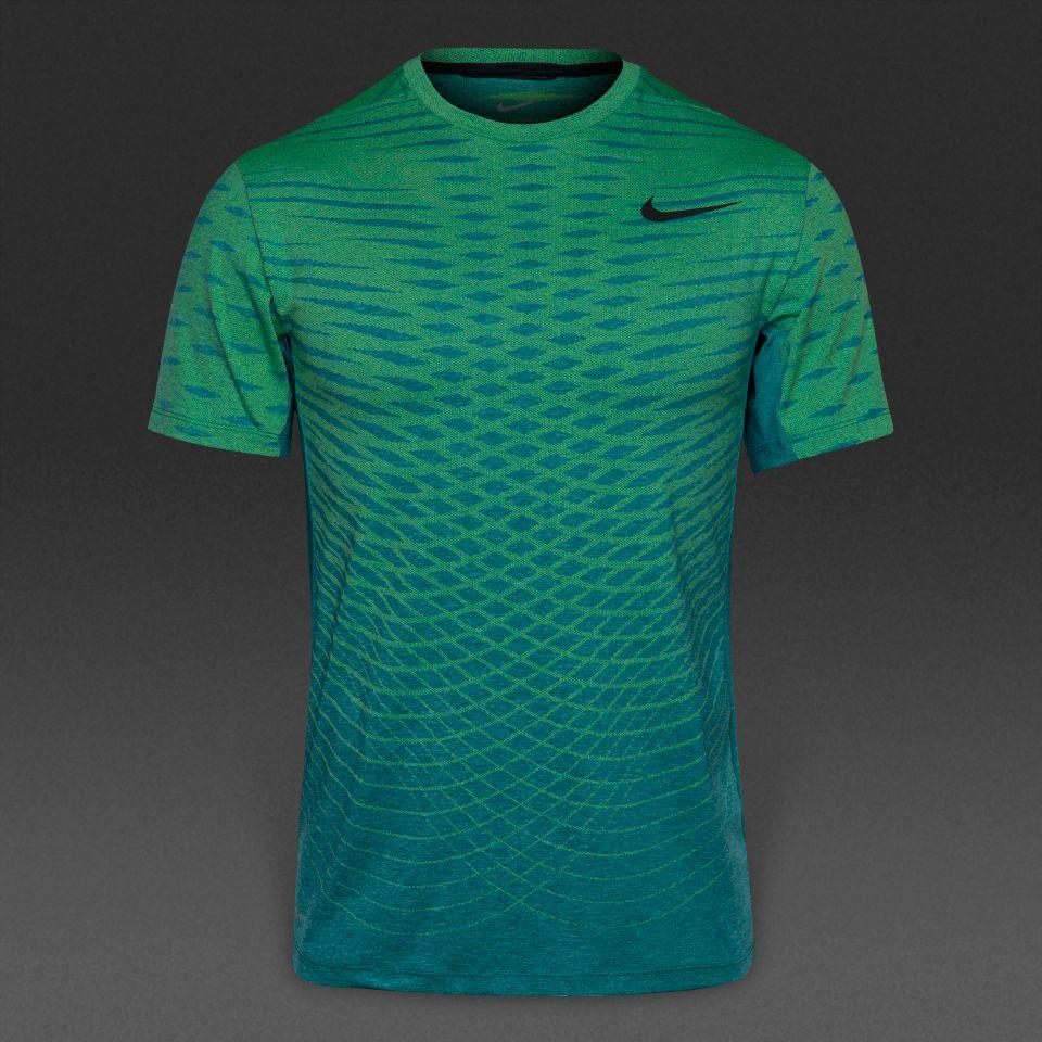 08219107cc Camiseta Nike Ultimate Dry -Turquesa Volt Negro