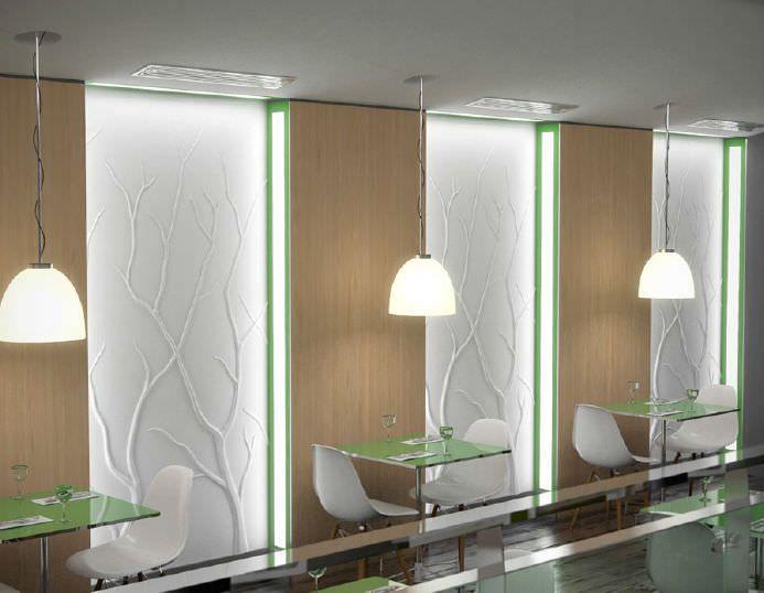 Pin de sara montes en paneles decorativos panel decorativo pared panel y yeso - Panel decorativo para pared ...