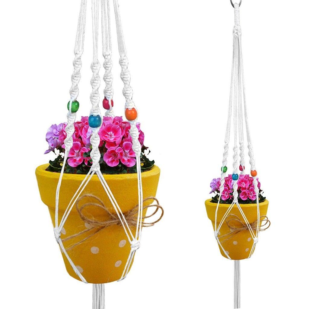 Plant Pot Hangers Outdoor