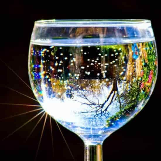 Пускай чашка с водой исполнит любое ваше желание ...