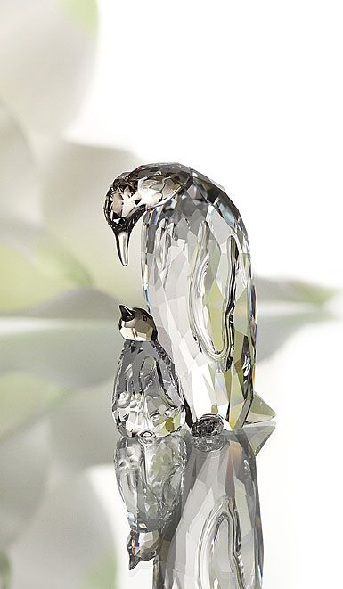 múltiples colores ropa deportiva de alto rendimiento calidad confiable Swarovski Penguin Mother With Baby | cristalli | Cristalli ...
