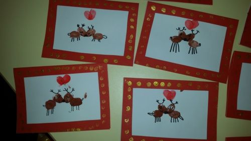 Cartes de Noel Moyenne Section