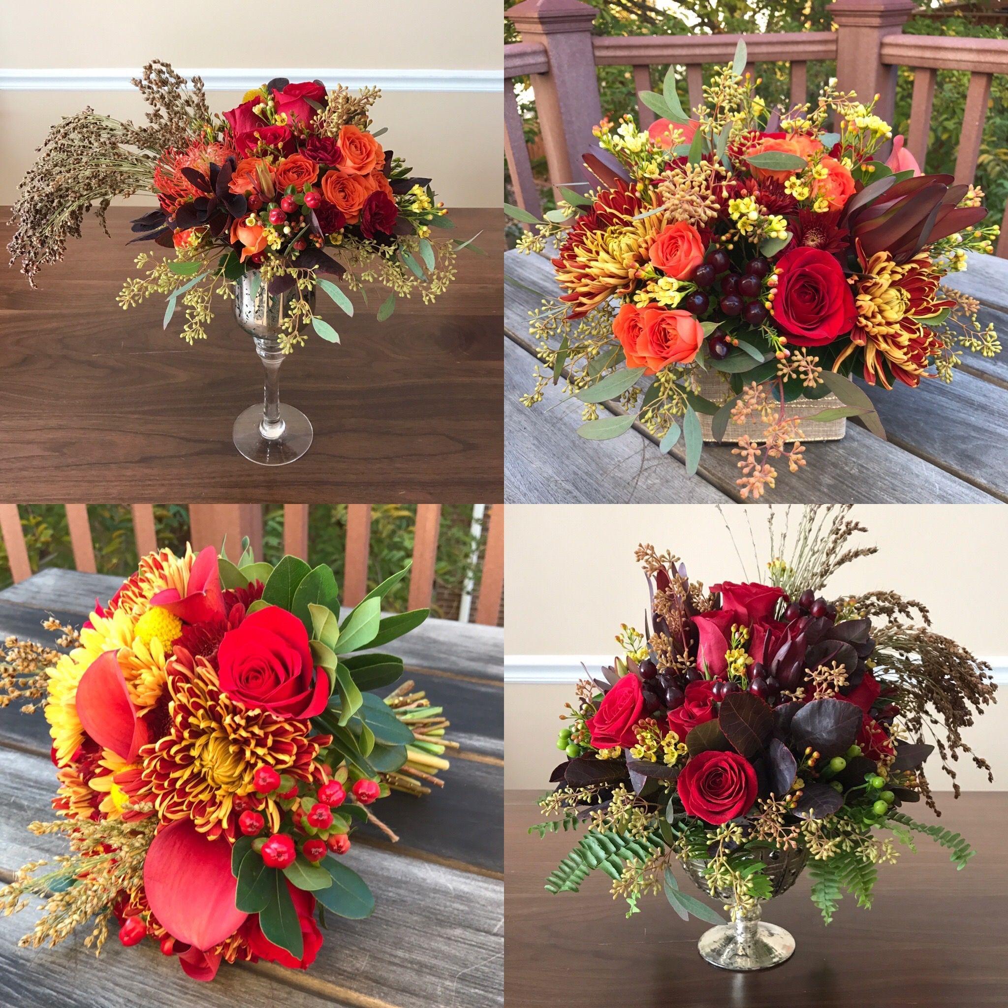 Fleurelity unique flower arrangements thanksgiving theme