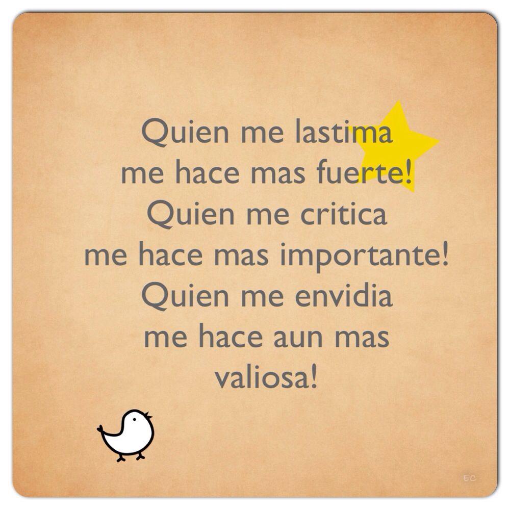 Spanish quotes | Inspirational quotes, Spanish quotes ...