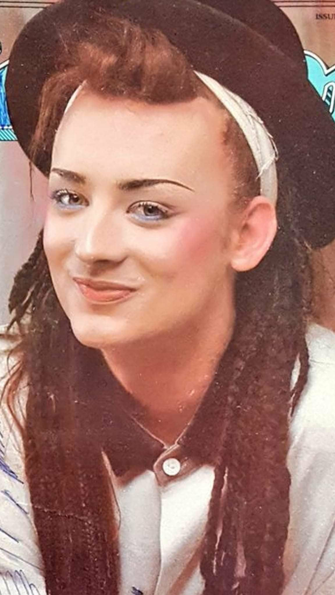 I love this style of Boy George from the us  Boy George for