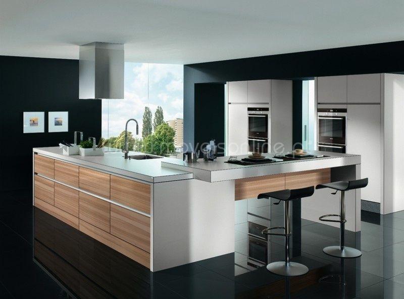 Bildergebnis für küche grau holz Raumgestaltung Pinterest - häcker küchen erfahrungen