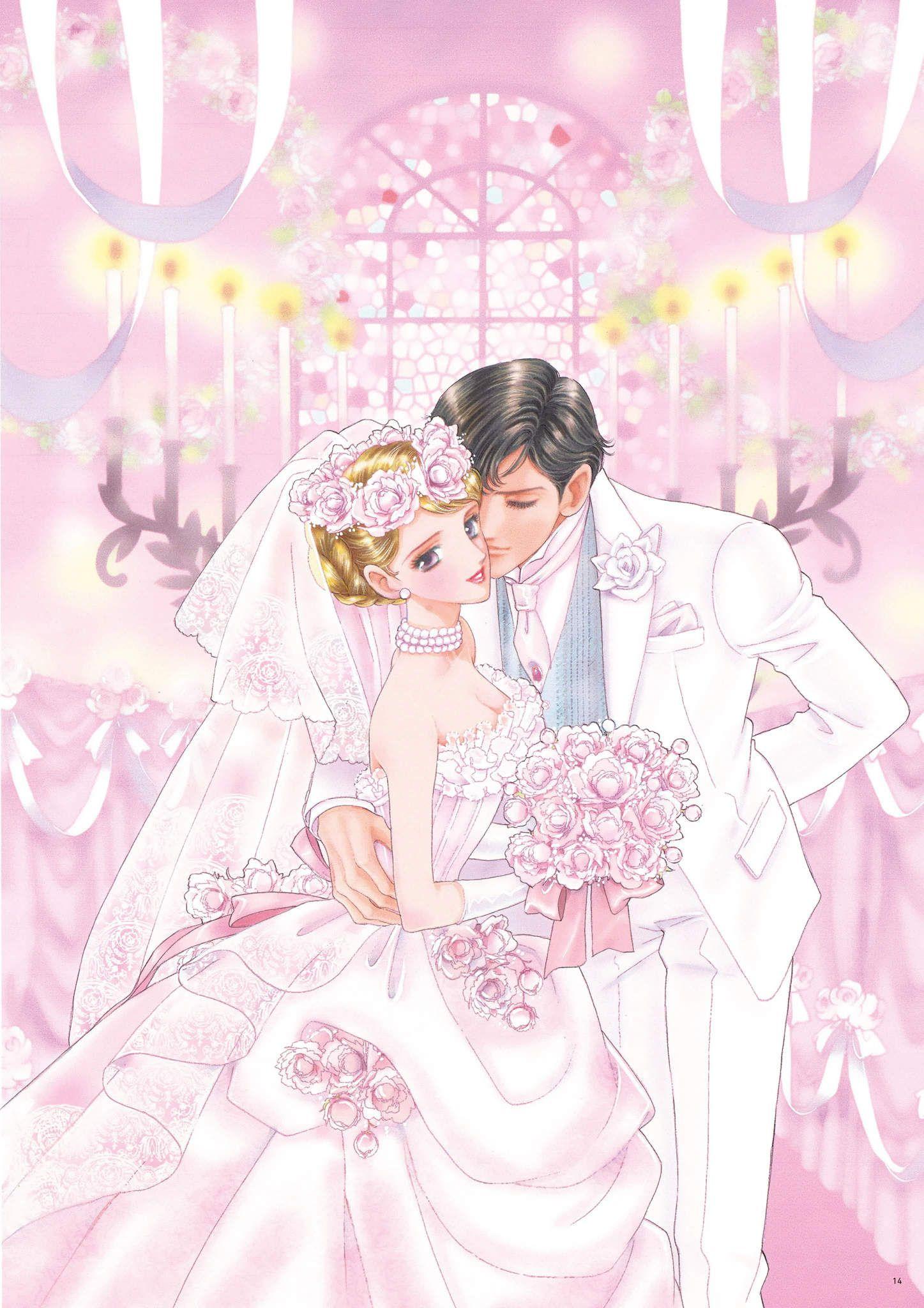 Свадебные картинки в аниме