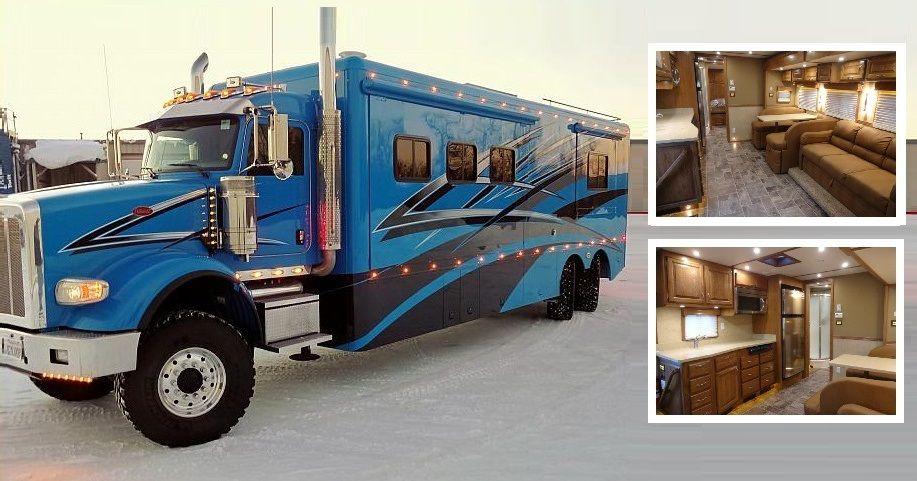 Beau Custom Motorhome Interior (1) 2 Cropped Big Trucks, Pickup Trucks, Semi  Trucks