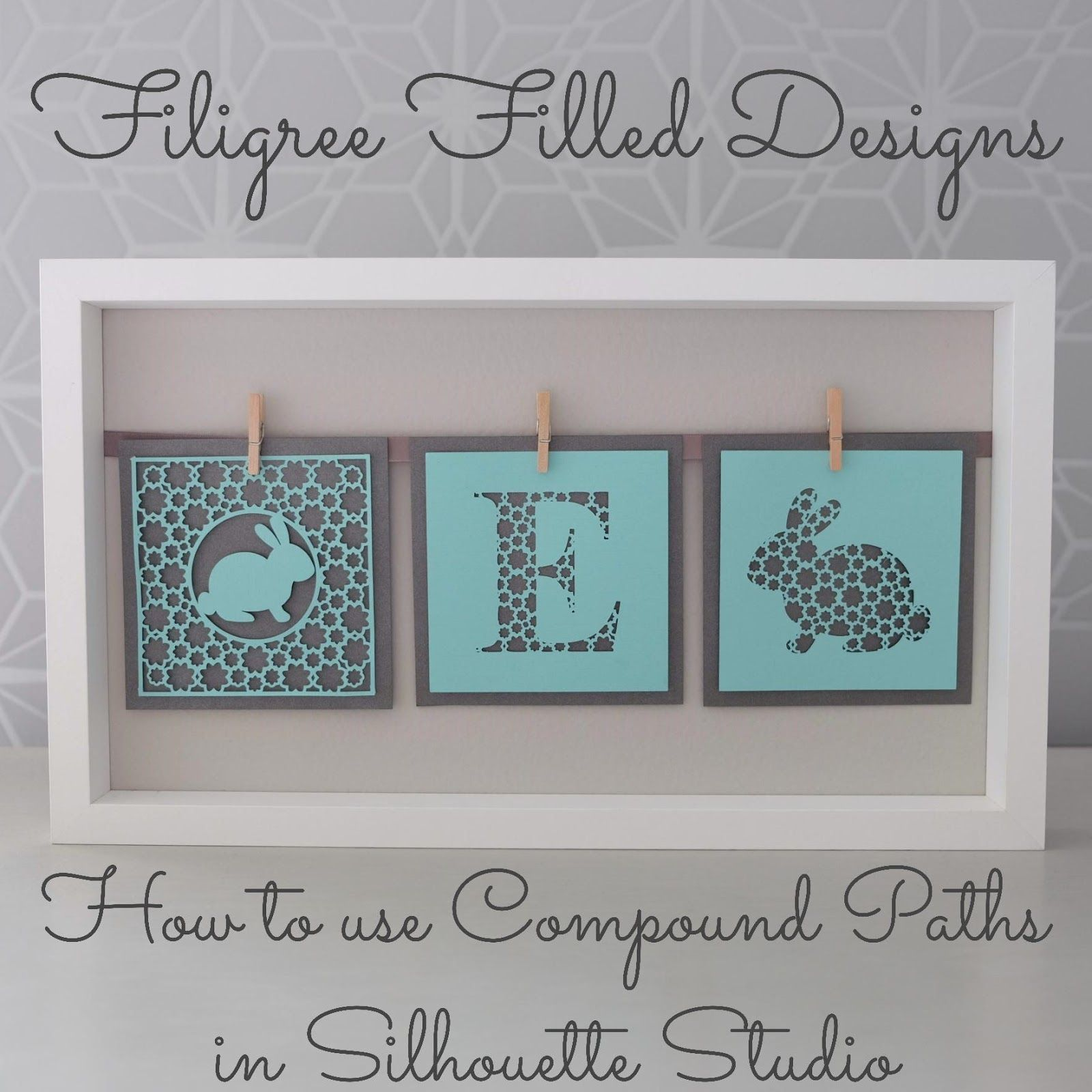 Filigree fill Silhouette tutorial by Nadine Muir for Silhouette UK blog