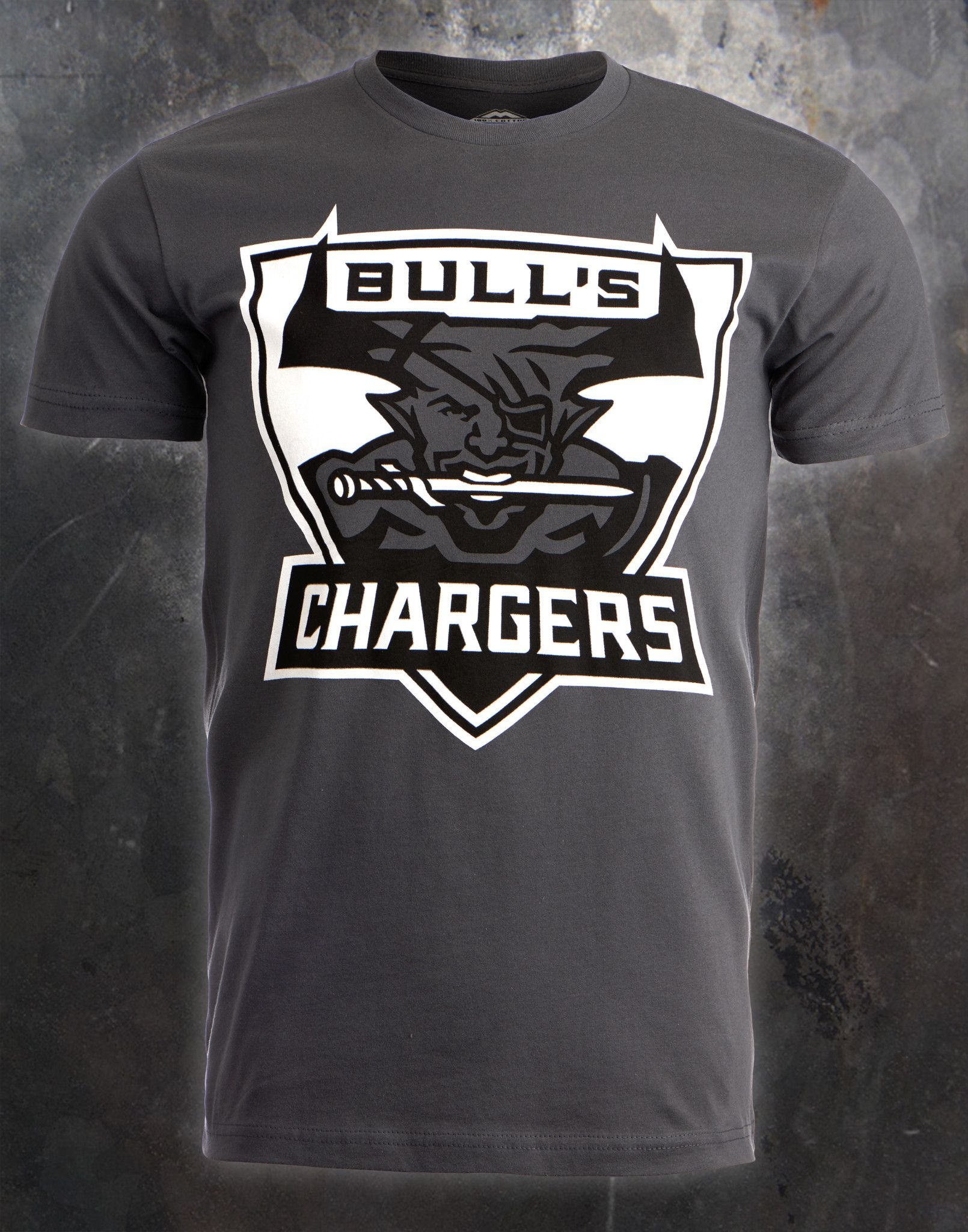 ... the bull s chargers shirt is a sport inspired mascot like design   ladainian tomlinson powder blue san go chargers jersey reebok ... a4b2afc3c