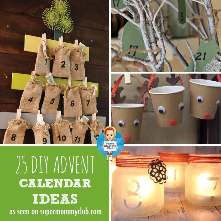 Count down to Christmas with these wonderful DIY advent calendar ideas