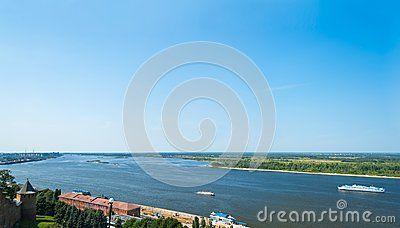Il fiume Volga