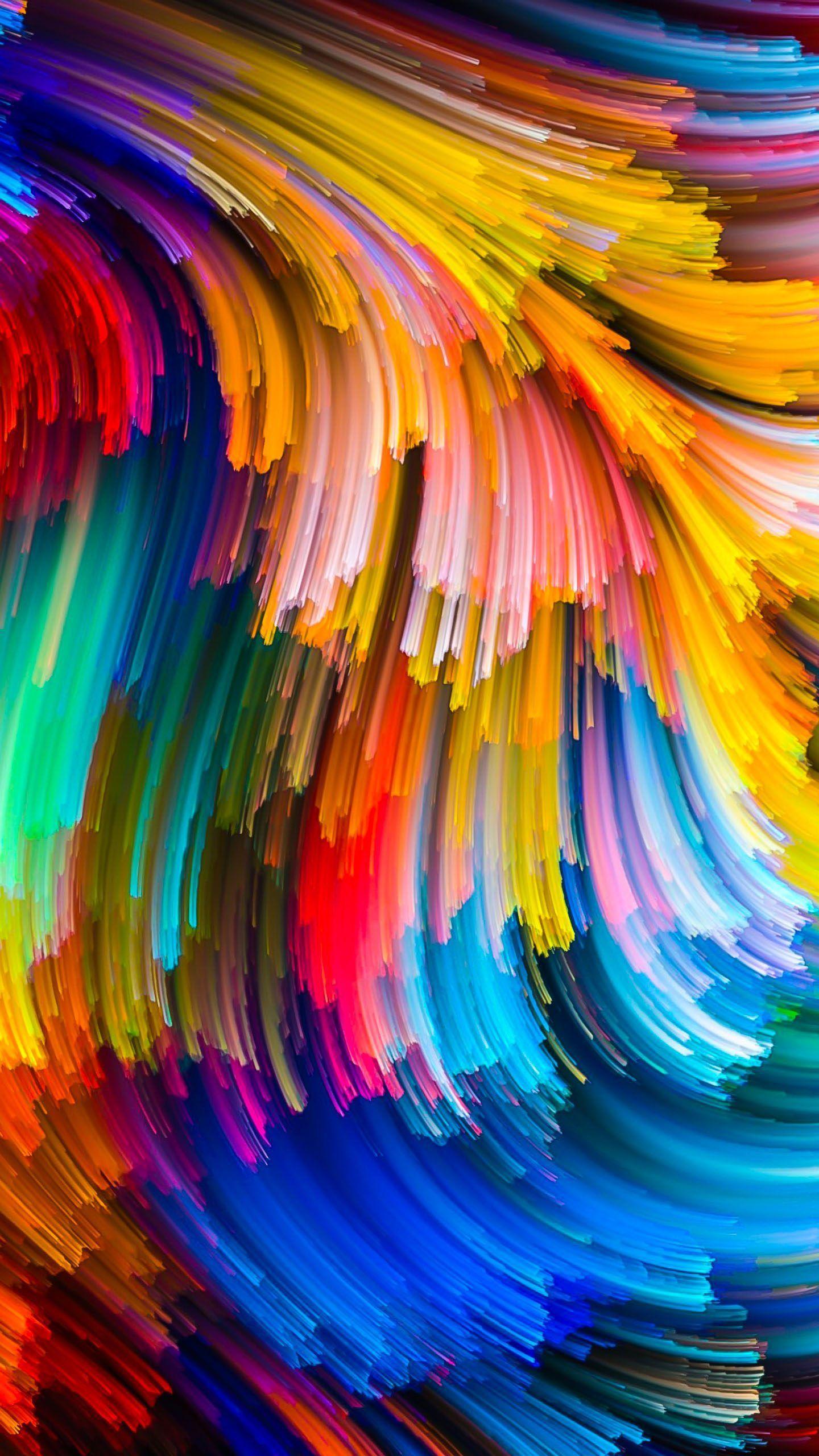 Abstract Pattern Wallpaper 4k Allwallpaper In 2020 4k Phone Wallpapers Abstract Colorful Wallpaper