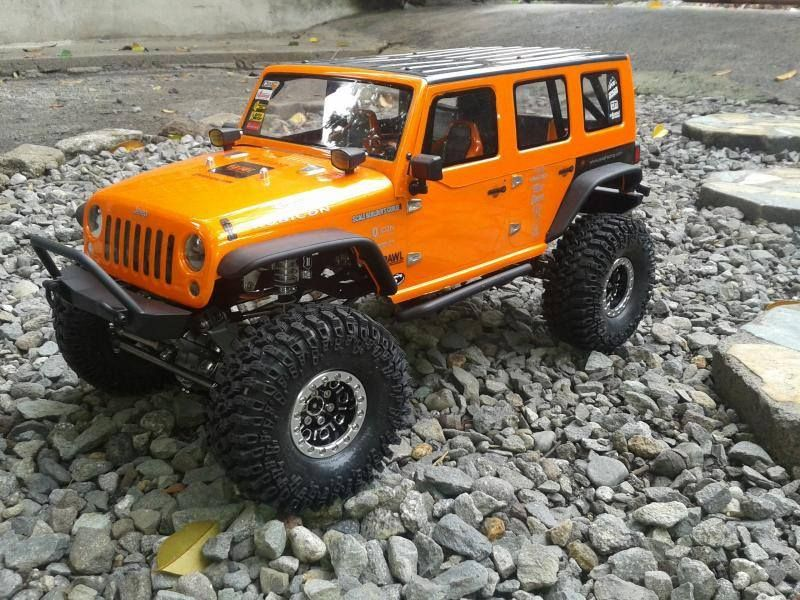 Super Clean Scx10 Jk Build Reminds Me A Little Of The Orange