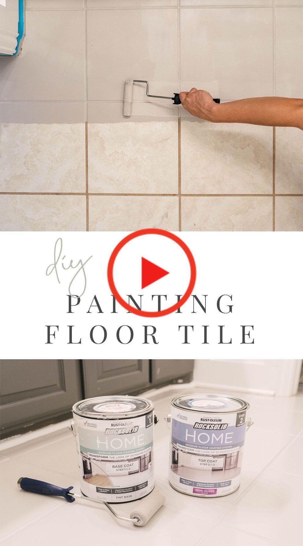 Diy どのようにセラミック床タイルをペイントします Amazon Home Decor Ceramic Floor Tile Diy Home Decor Easy