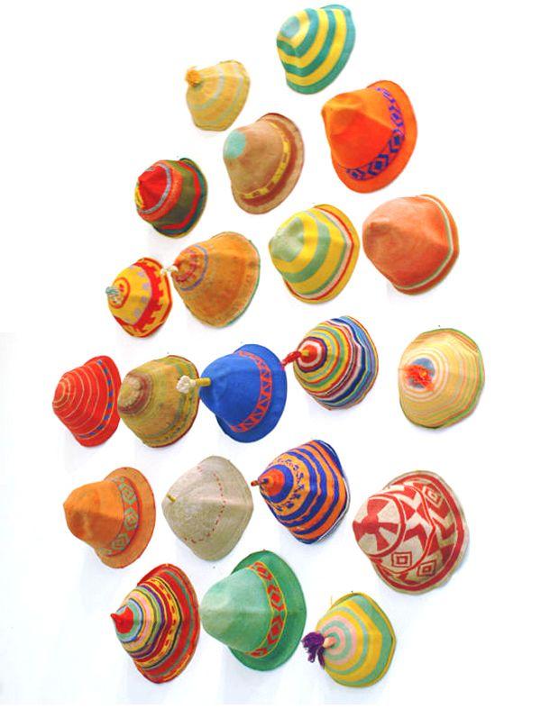 Ethiopian dorze caps 1970's
