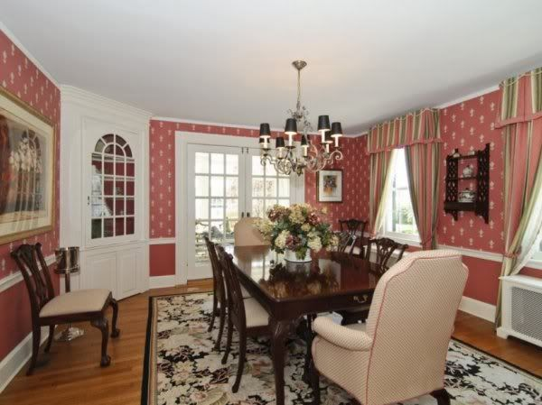 Amityville House 108 Ocean Ave Circa 2010 Formal Dining Room With Corner Hutch