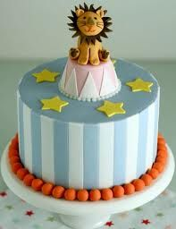 cute circus party cake CircusCarnival Party Ideas Recipes and