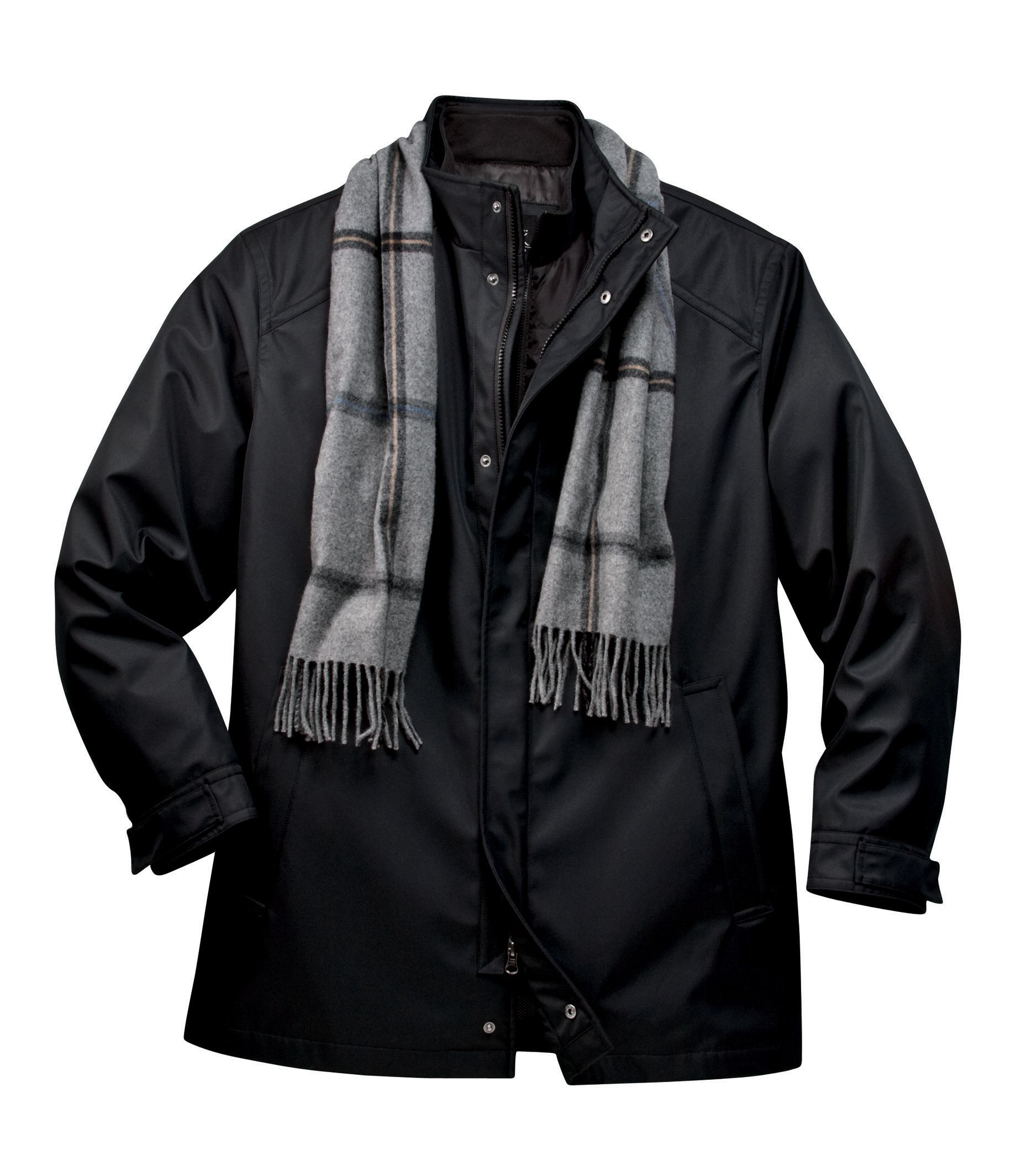 Two-In-One Cold Weather Jacket | Don't forget the Men | Pinterest ...
