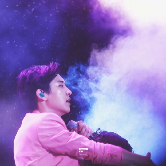 Chanyeol - 150723 Lotte Lovely Young Concert  Credit: Whiteday27.