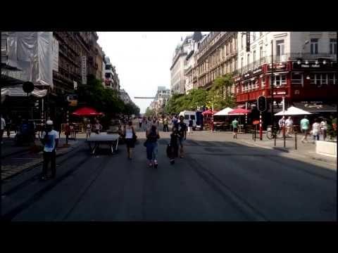 Pietonnier Bruxelles Views Scenes Street View