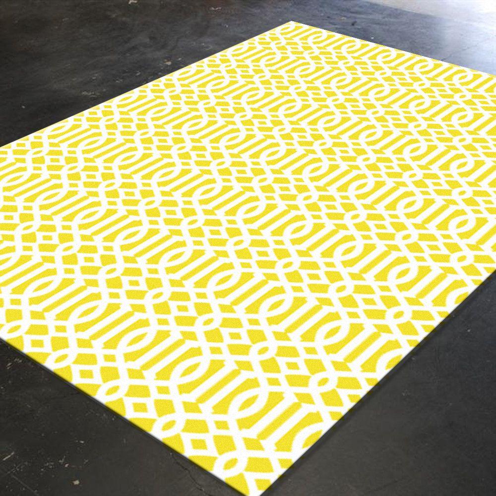 Decorative Rug  Trellis Rug  Floor Rugs  Area Rugs Large Floor Rugs  Unique  Rugs  Yellow Rug  Mustard Rug  Geometric Rug  Area Rug By HawkerPeddler On  Etsy