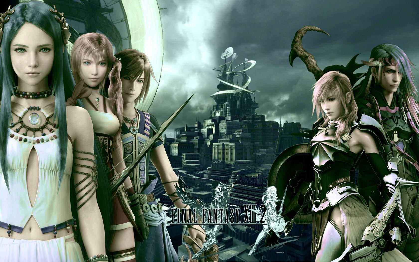 Tags Final Fantasy Xiii Wallpaper Serah Farron Lightning