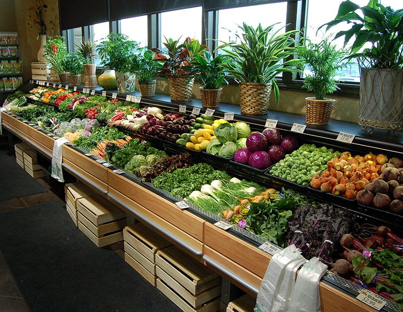 FLX Refrigerated Produce Table Inspired by produce