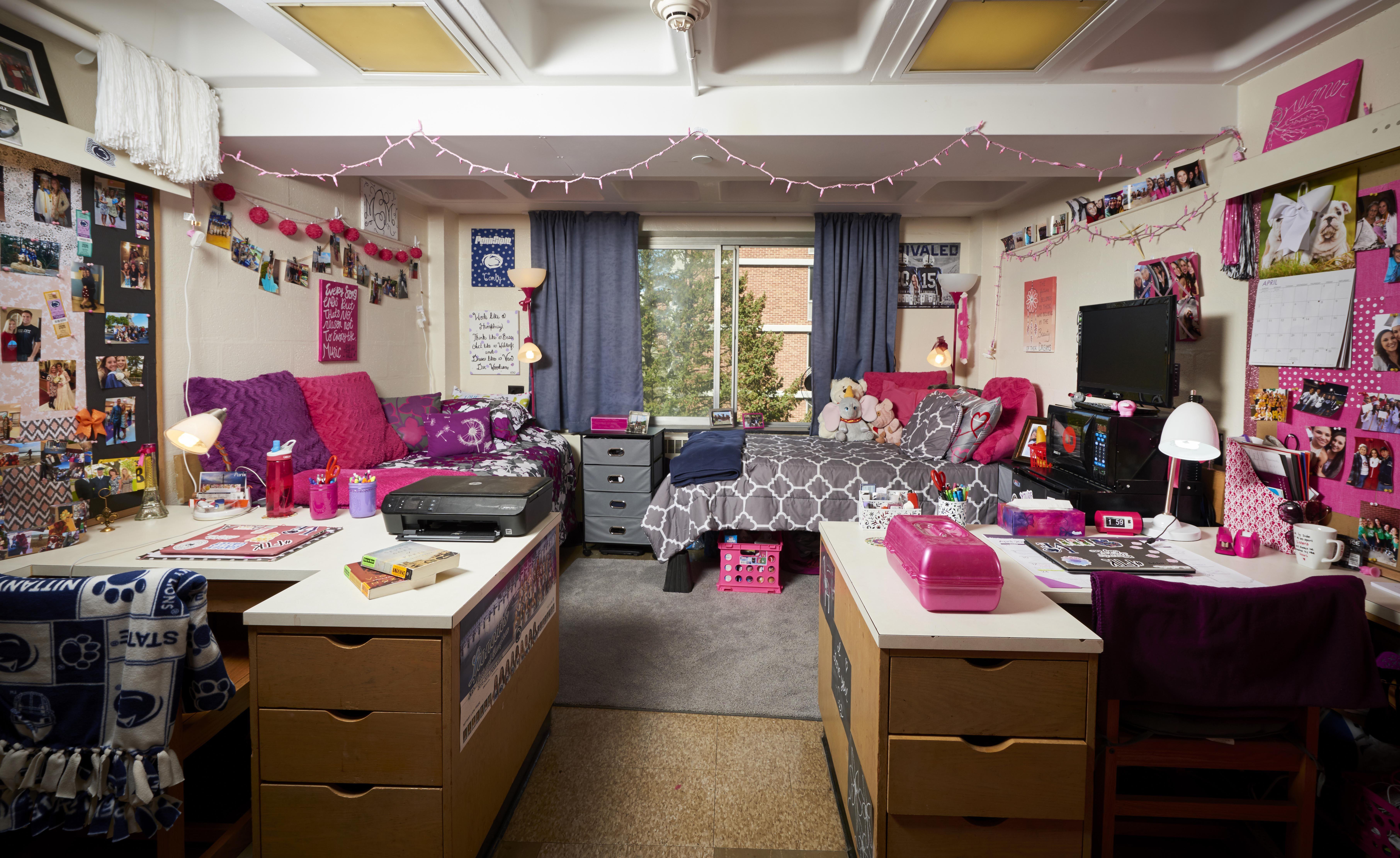Alternate Dorm Set Up At Penn State S East Halls College