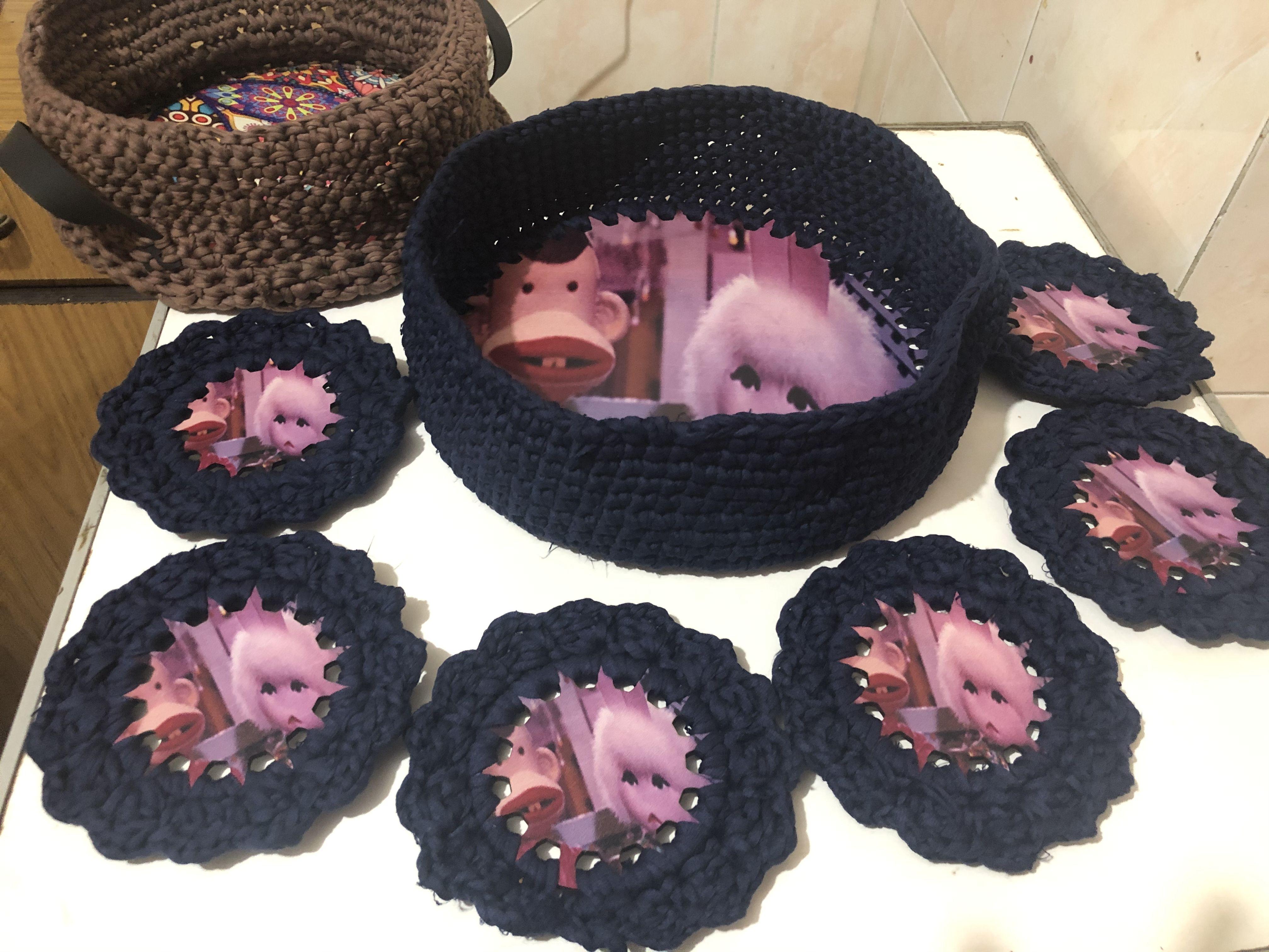 صينيه رمضان بالكوستر Crochet Necklace Crochet Jewelry