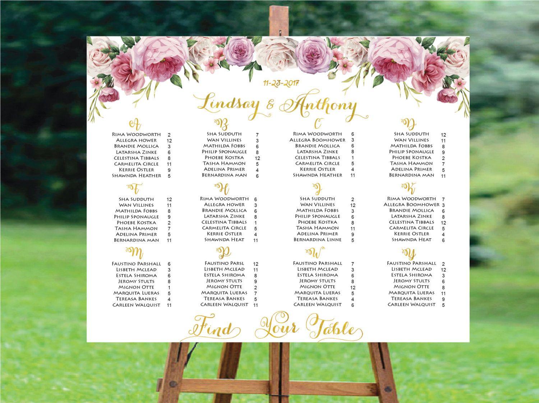 Wedding Seating Chart Alphabetical ,Wedding Seating Chart