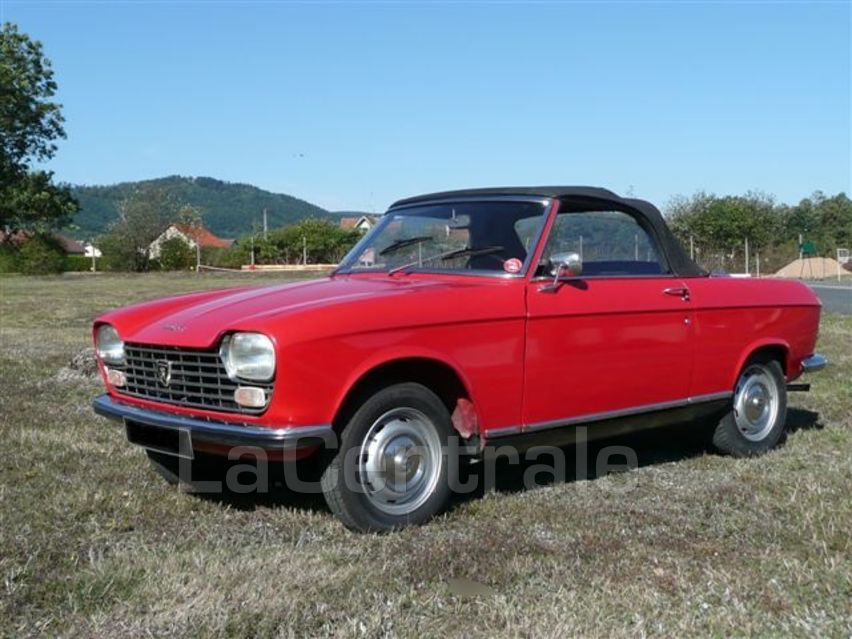 peugeot 204 cabriolet 1968 essence occasion chagny. Black Bedroom Furniture Sets. Home Design Ideas