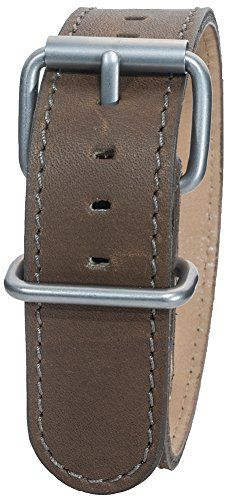 Bertucci DX3 B-9 Montanaro Survival Leather Olive Brown 22mm Watch Band * Check this awesome product by going to the link at the image.