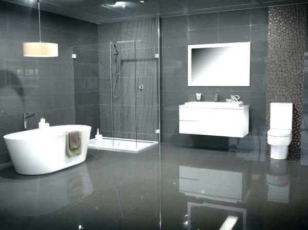 Badezimmer Matte Schwarze Fliesen Badezimmer Schwarze Fliesen - Matte dunkle fliesen reinigen