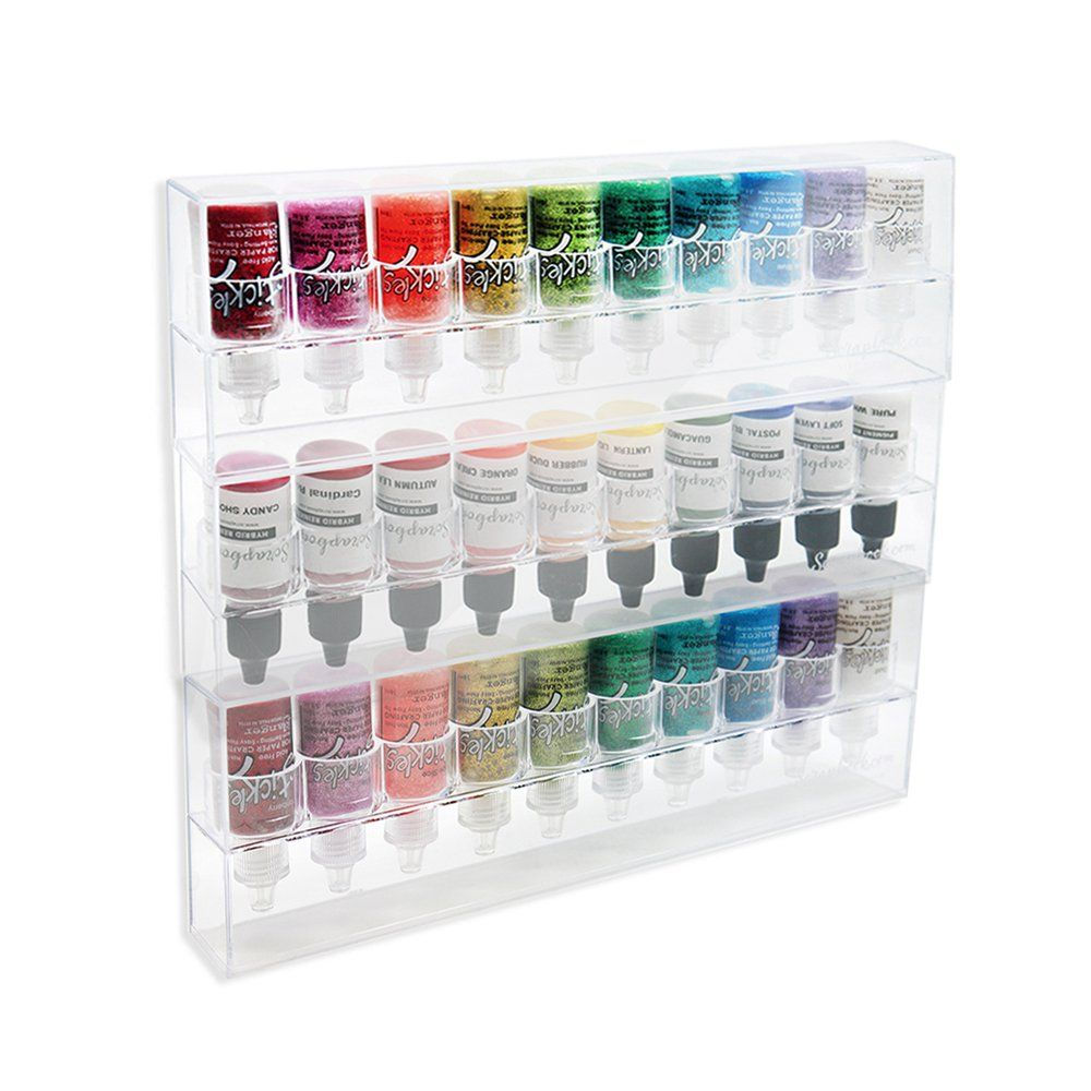 The Colorcase Storage For 5oz Bottles 3 Pack Craft Storage