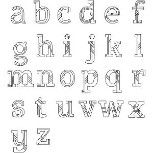 Lowercase Alphabet Coloring Page Coloring Pages Alphabet Coloring Lowercase Alphabet