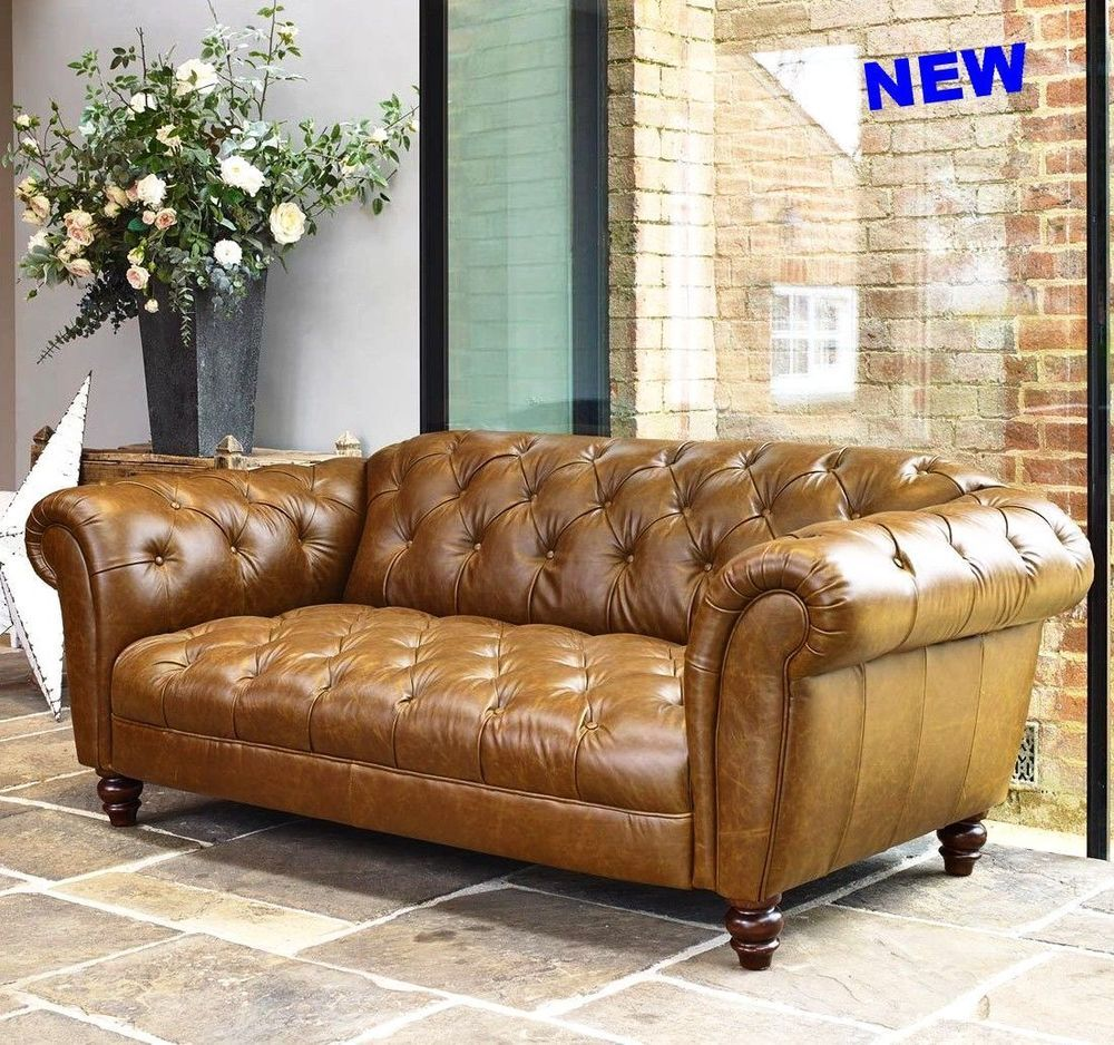 Fine Antique Leather Sofa Chesterfield Button Couch Loveseat Home Interior And Landscaping Ologienasavecom