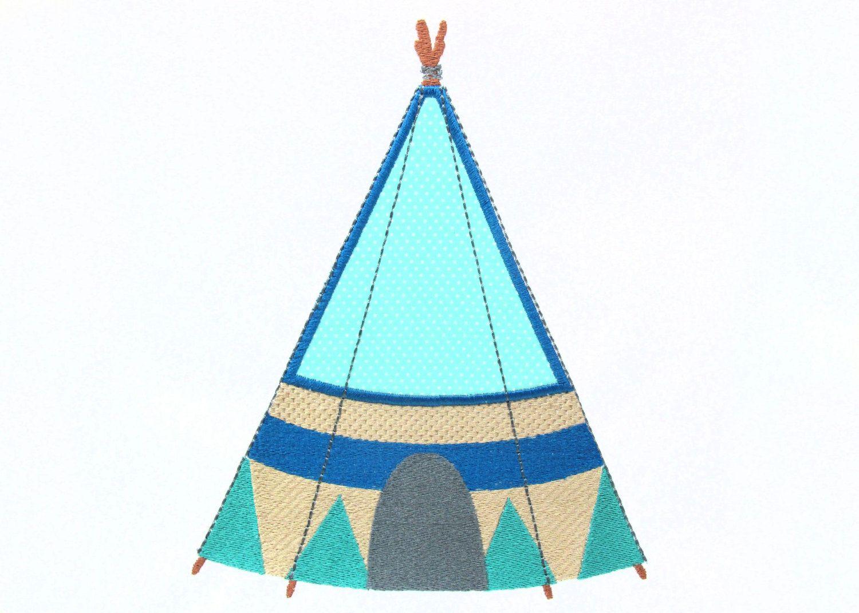 Pee Pee Teepee Embroidery Designs