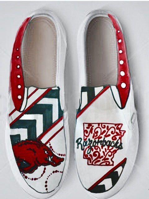 Slip on sneaker, Razorbacks