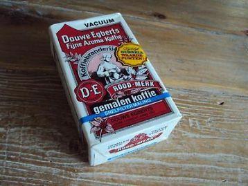 Gave oude nog origineel afgesloten verpakking douwe egberts koffie.