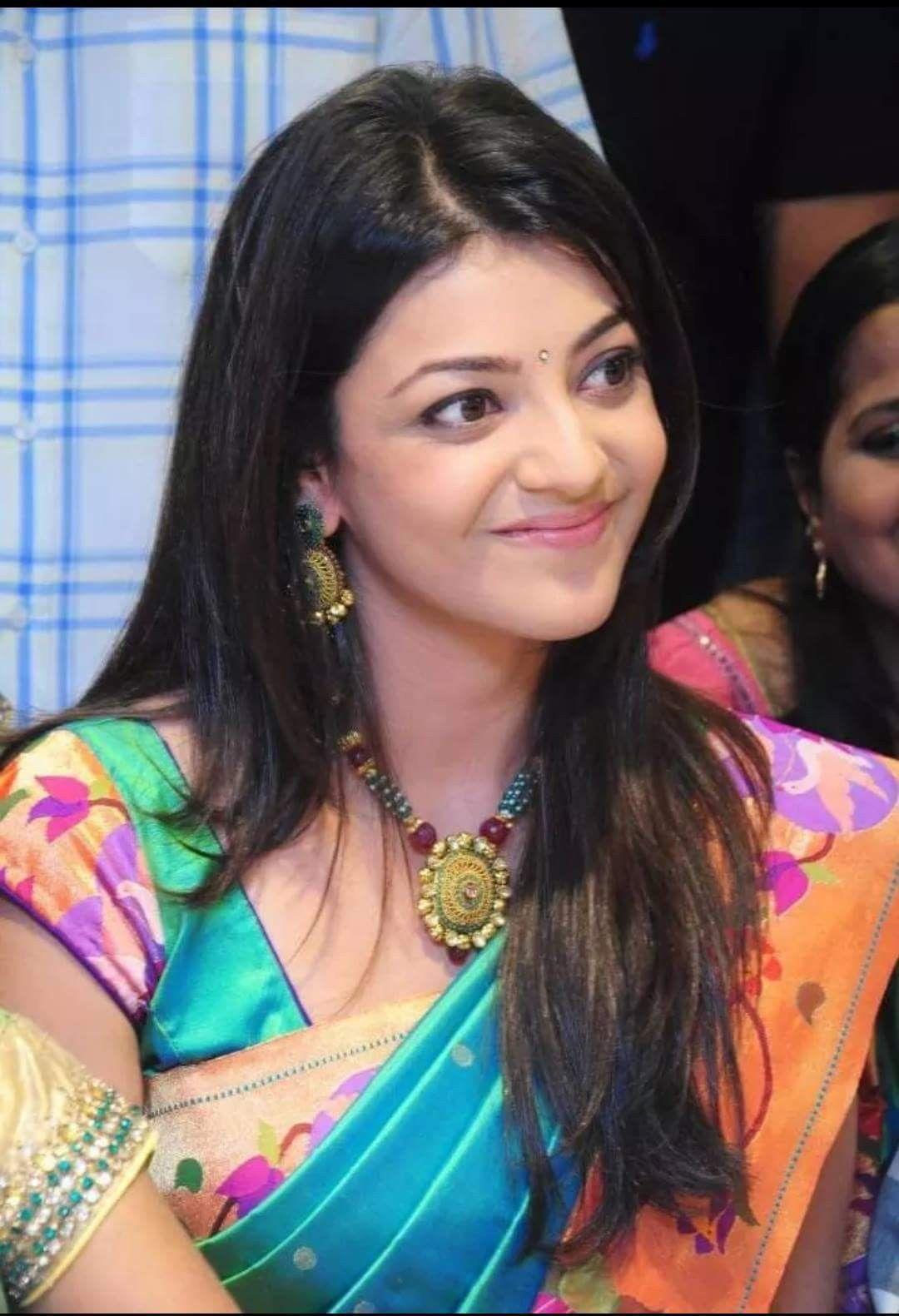 Pin by Neha on kajal aggarwal Kajal agarwal saree
